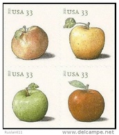 USA 2013 #4727/30 Apples 0.33c  X 4 MNH ** - Unused Stamps