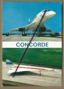 "CPM- Concorde - Avion Supersonique Franco-Anglais Construit Par ""Sud Aviation Et British Aircraft   -(avion , Aviation ) - Airplanes"
