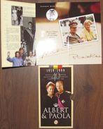 """250 FR ARGENT 1999 """"Albert & Paola"""" *QP* Albert II (dans Son ETUI D'origine !) - 07. 250 Francs"""