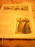 Journal De Famille La Mode Illustrée No 52 ( Avec Planche De Tapisserie ) De 34em Année  24 Dec 1893 _4 Pages - Mode