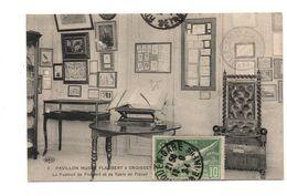 76 - CANTELEU . Pavillon Musée à Croisset . Le Fauteuil De Flaubert Et Sa Table De Travail - Réf. N°6624 - - Canteleu
