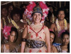 (PF 805) American Samoa - Polynesian Welcoming Party At The Airport - Samoa Américaine