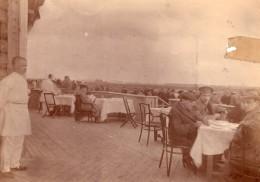 Terrasse Du Café De L'Aerodrome De L'Aero-Club Imperial De Moscou Photo Ancienne 1912 - Aviation