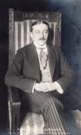 Aviateur Polonais Adam Haber-Wlynski Portrait Ancienne Carte Photo Russe 1914 - Aviation