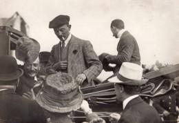 Aviateur Alfred Leblanc Pionnier De L'Aviation Signant Des Cartes Postales Ancienne Photo 1910 - Aviation