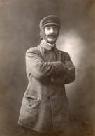Lieutenant De Vaisseau Louis Byasson Pionnier De L'Aviation Ancienne Photo Henri Manuel 1910 - Aviation