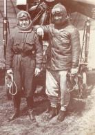 Aviateur Edmond Perreyon A Moscou Aviation Photo Ancienne 1912 - Aviation