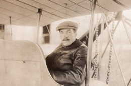 Aviateur Pierre Landron Crash Mortel Aviation Ancienne Photo Meurisse 1911 - Aviation