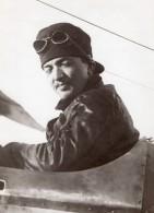 Aviateur Rene Moineau Sur Breguet Aviation Ancienne Photo Rol 1914 - Aviation