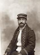 Aviateur Lieutenant Charles Lantheaume Aviation Militaire Photo Ancienne 1911 - Aviation