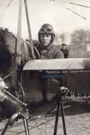 Aviateur Edouard Rousseau Sur Deperdussin Aviation Photo Ancienne 1912 - Aviation