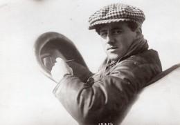 Aviateur Allemand Gino Linnekogel Portrait Aviation Photo Ancienne 1914 - Aviation
