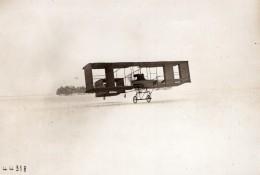 Biplan Voisin De Moore Brabazon Camp De Chalons Aviation Ancienne Photo Branger 1908 - Aviation