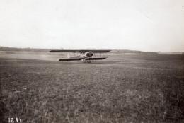 Biplan Schmitt Pilote Garaix Et 5 Passagers Record D'Altitude Aviation Ancienne Photo 1914 - Aviation