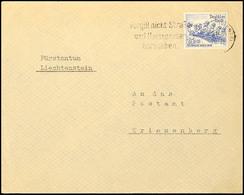 """4016 25 Pfg. Olympiade Auf Portogerechtem Brief Von """"HAGEN 29.11.35"""" Nach Triesenberg/ Liechtenstein Mit Ank.-stpl., Kat - Germany"""