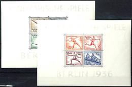 4020 Olympiade - Blockpaar, Postfrisch, Mi. 260.-, Katalog: Bl.5/6 ** - Unclassified