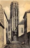 MECHELEN - Straatje Zonder Eind - St Romboutstoren - Mechelen