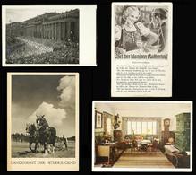4690 III. REICH, */o, Lot Von 25 Verschiedenen S/w Bzw. Color Propagandakarten U.a. Staatstreffen Hitler V. Horty, Obers - Unclassified