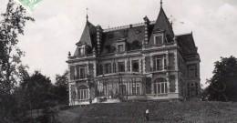 Avize Chateau De Mr Desbordes Envoyee Par Pionnier Alfred Leblanc Apres Vol En Ballon Aviation 1907 - Balloons