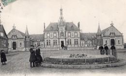 Brou Envoyee Par Pionnier Alfred Leblanc Et Nicolleau Apres Vol En Ballon Aviation 1907 - Balloons