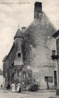 Ablis Chateau Des Forts Signee Pionnier Alfred Leblanc & Nicolleau Apres Vol En Ballon Aviation 1906 - Balloons