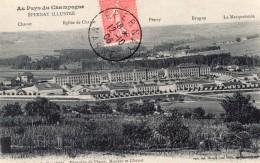 Epernay Cavalerie Vignoble Envoyee Par Aeronaute Bastier Apres Vol En Ballon Aviation 1906 - Balloons