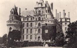 Brissac Chateau Envoyee Par Aeronaute Nicolleau Et Bastier Apres Vol En Ballon Aviation 1908 - Balloons