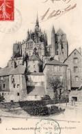 Mont Saint Michel Envoyee Par Aeronaute Richard De Lamotte Apres Vol En Ballon Aviation 1909 - Balloons