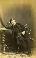 France Paris Garcon En Uniforme Mode Second Empire Ancienne Photo CDV Marck 1860's - Old (before 1900)
