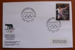 Letter - Envelope - Sobre De Paraguay - Estate 1988: Seul