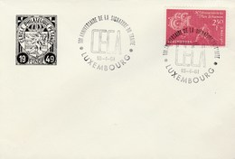 1961 LUXEMBOURG CECA EVENT COVER Stamps European Community - Luxembourg