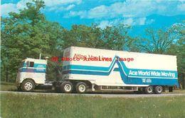 251967-Advertising Card, Atlas Van Lines, Ace World Wide Moving Truck, Milwaukee, Wisconsin - Transporter & LKW