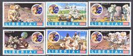 LIBERIA 623-8   **  APOLLO 17,    MOON  LANDING - Space