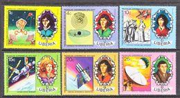 LIBERIA 653-8   **  SPACE   COPERNICUS - Space