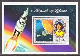 LIBERIA  C 200   (o)  SPACE   COPERNICUS - Space