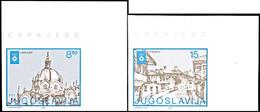 10058 4 - 15 Din. Olympiade Sarajevo, Ungezähnt, Einheitlich Aus Der Rechten Oberen Bogenecke, Postfrisch, Tadellos, Kat - Unclassified
