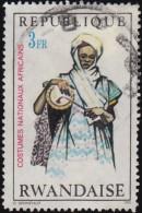 RWANDA - Scott #347 African National Costume / Used Stamp - Rwanda