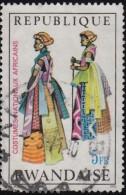 RWANDA - Scott #348 African National Costume / Used Stamp - Rwanda