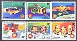 LIBERIA  715-20   **  SPACE   APOLLO-SOYUZ - Space