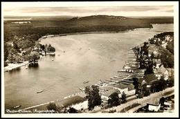 "10561 1936, Sommer-Olympiade, Bildpostkarte ""Berlin-Grünau, Regattastrecke"" Mit Olympia-Sondermarke Und SST ""BERLIN-GRÜN - Postcards"
