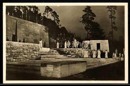 """10563 1936, Sommer-Olympiade, Amtliche Bildpostkarte """"Der Einzug Des Herkules. Spiel Auf Der Dietrich-Eckart-Bühne"""", Mit - Postcards"""