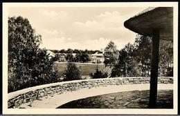 """10564 1936, Sommer-Olympiade, Amtliche Bildpostkarte """"Olympisches Dorf. Blick Auf Das Empfangsgebäude."""", Mit Olympia-Son - Postcards"""