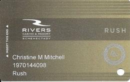 Rivers Casino - Schenectady, NY - 1st Slot Card - Casino Opened Summer 2017 - Casino Cards