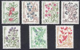 ANDORRA - 1985 - Segnatasse; Lotto 7 Valori Nuovi MNH: Yvert 53/59. - Timbres-taxe