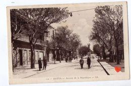 19202-LE-ALGERIE-BATNA-Avenue De La République----------animée - Batna