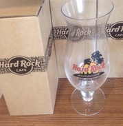 HRC Hard Rock Cafe Phnom Penh - Cambodia Hurricane Glass 2017 / 2 Photo - Brand New - Glasses