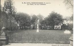 Hardinghen - Le Parc, Vu Du Chateau - Francia