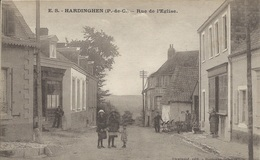 Hardinghen - Rue De L'Eglise - Francia