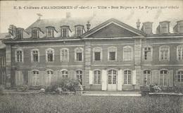 """Hardinghen - Villa """" Bon Repos """" - La Façade XIIIè Siècle - - Francia"""
