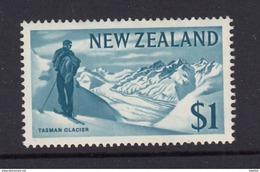 New Zealand 1967 Pictorials - $1 Glacier - MUH - New Zealand